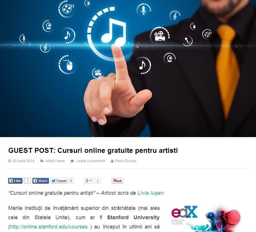 Despre cursurile online
