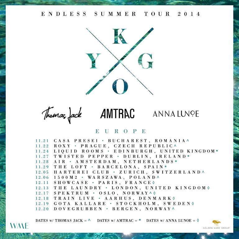 Kygo Tour