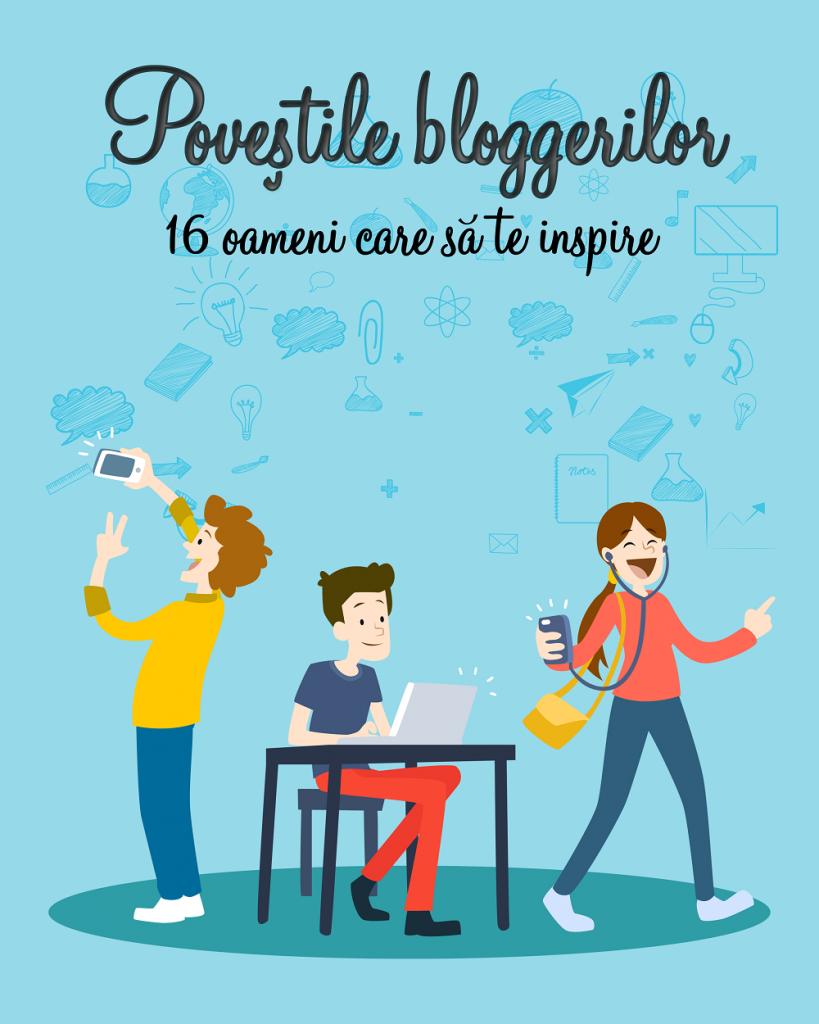 Coperta Poveștile Bloggerilor
