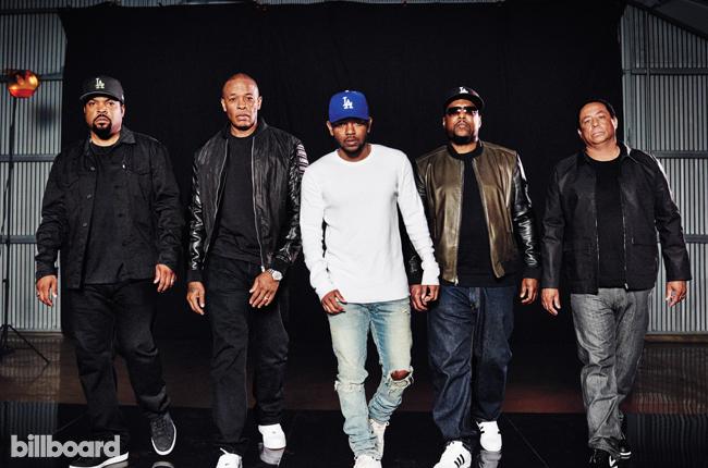 Kendrick Lamar and N.W.A.